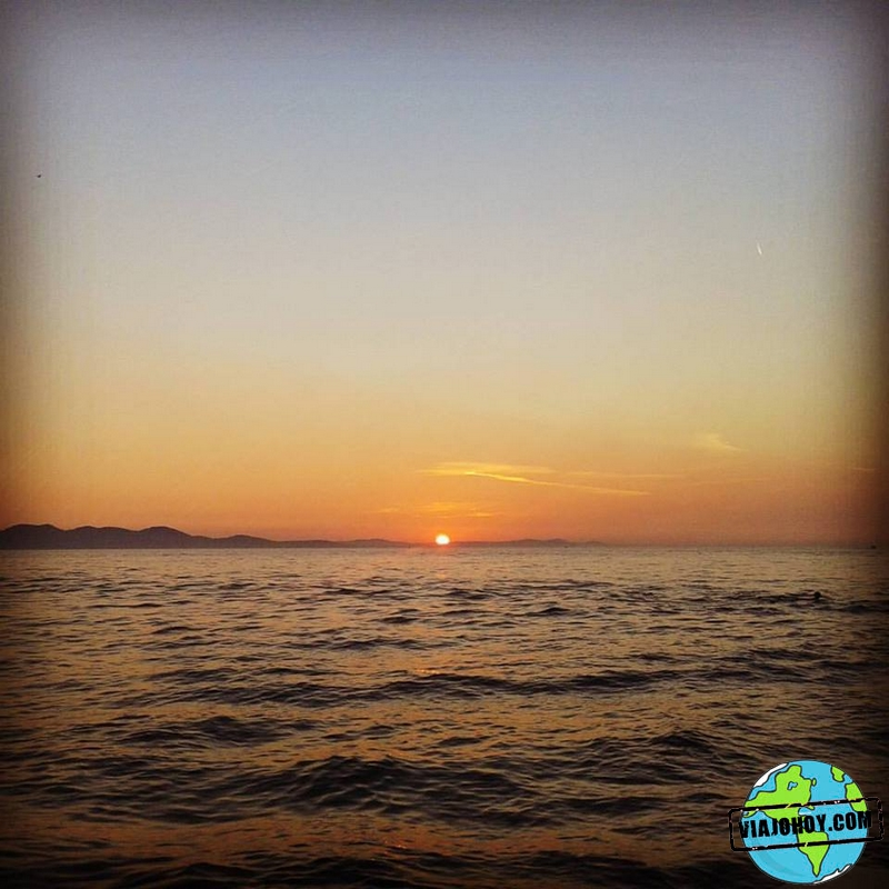 Saludo al sol, Zadar