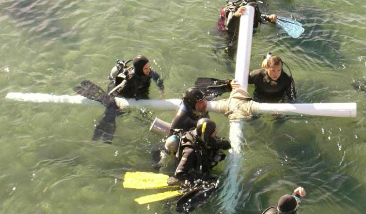 Semana Santa submarina, sí existe!!