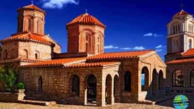 El monasterio Saint Naum en imágenes