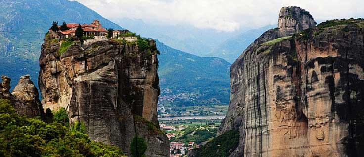 Los imponentes Monasterios de Meteora en Grecia