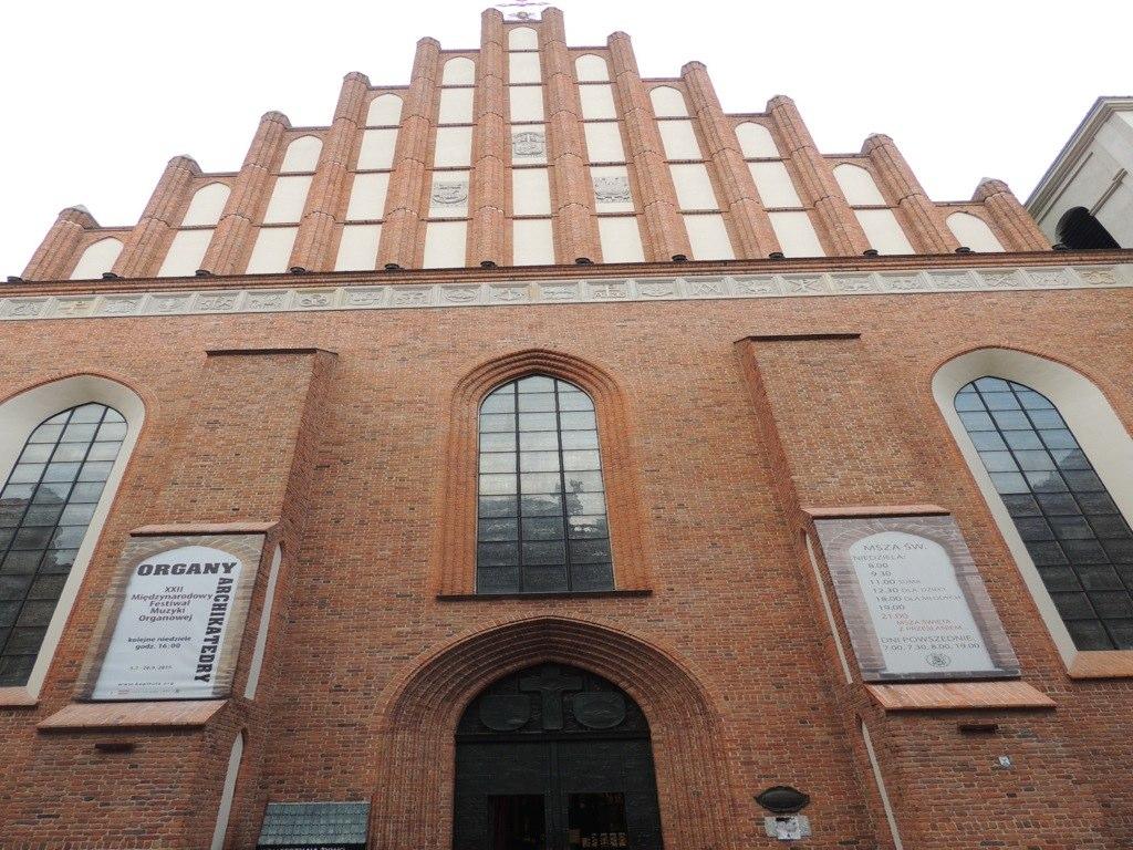 La archicatedral de San Juan en Varsovia